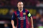 Tin chuyển nhượng tối 6/8: Iniesta tiết lộ thời điểm chia tay Barca