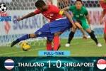 Thái Lan thắng sít sao Singapore, giành vé vào bán kết AFF Cup 2016