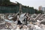 Hà Nội dẹp 'cướp' vỉa hè: Nhà hàng, gara ô tô bị phá dỡ
