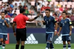 Cầu thủ U20 Argentina là 'nạn nhân' đầu tiên của công nghệ mới ở World Cup U20
