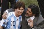 Maradona vui vẻ bênh Messi dù không được mời dự đám cưới