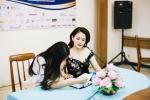 Thí sinh Hoa hậu Hữu nghị ASEAN hào hứng nghe cố vấn chia sẻ kinh nghiệm làm đẹp