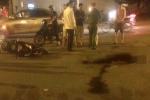 Phóng bạt mạng tông vào xe sang đường, tài xế xe SH chết tại chỗ