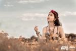 Hot girl lai Tây ĐH Quốc gia Hà Nội cuốn hút với phong cách Bohemian