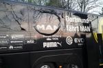 Bom phát nổ cạnh xe bus Dortmund chỉ 1 phút sau khi khởi hành