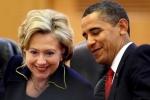 Tổng thống Obama chúc mừng thành tích lịch sử của bà Clinton