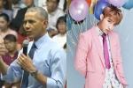 Sơn Tùng M-TP nói gì khi được Tổng thống Mỹ Obama nhắc tên?