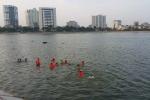 Hồ 'tử thần' ở Hà Nội vẫn hút người đến tắm