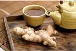 Trời lạnh: Một cốc trà gừng rất tốt cho sức khỏe