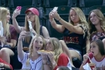 Video: Bất ngờ với việc con gái làm khi đi xem thể thao