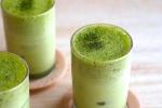 Hướng dẫn tự làm latte trà xanh sôcôla tuyệt ngon