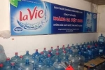 Hoảng hồn dây chuyền sản xuất nước Lavie giả bị phanh phui