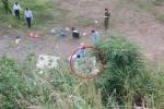 Thi thể nam thanh niên phân hủy gần thủy điện Hòa Bình