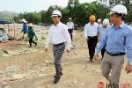 Bí thư  Xuân Anh thị sát 'điểm nóng' bãi rác Khánh Sơn