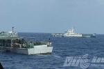 Video: Tàu Trung Quốc vây ráp tàu Việt Nam cứu ngư dân gặp nạn