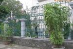 Biệt thự Hà Nội sành điệu với tường rào đẹp lạ
