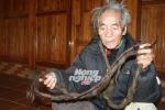 Dị nhân ở Sơn La: 70 năm không cắt tóc, gội đầu