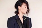 Châu Tấn mặc nội y khoe lưng trần trên tạp chí