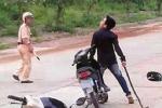 3 thanh niên đánh CSGT rồi cướp xe bỏ trốn