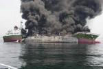 Nổ tàu chở dầu Nhật, nhiều người thương vong