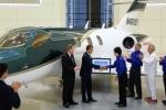 Máy bay đầu tiên của Honda trị giá 100 tỷ đồng đến tay khách hàng
