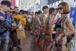 Những hình ảnh độc trong lễ hội xăm mình ở Trung Quốc