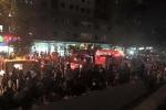 Chung cư của đại gia 'điếu cày' báo cháy, cư dân hoảng loạn bỏ chạy