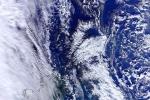 Bức tranh bão tuyết nhìn từ vệ tinh xôn xao cư dân mạng
