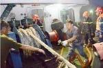 Hải Phòng: Cháy tàu trọng tải 3000 tấn