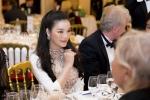 Lý Nhã Kỳ gợi cảm dự tiệc cùng chủ tịch LHP Cannes