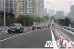 Cận cảnh thông xe cầu vượt thép thứ 8 ở Thủ đô