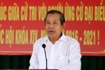 Phó Thủ tướng Trương Hòa Bình hứa gì khi tiếp xúc cử tri Long An?