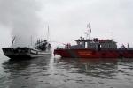 Đình chỉ hoạt động công ty bị cháy tàu trên vịnh Hạ Long