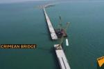 Cận cảnh cây cầu siêu 'khủng' nối liền Nga với bán đảo Crưm