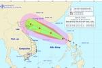 Tin mới nhất đường đi của bão số 4 trên biển Đông