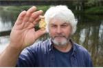 Người đàn ông tình cờ phát hiện thỏi vàng to như quả trứng gà