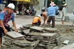 1.000 tỷ đồng sửa vỉa hè Hà Nội: 'Có tìm ra ông nào sai phạm?'