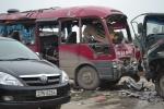 Nổ xe khách trên QL1A: Bàng hoàng lời kể người thoát chết