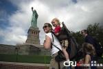 Tượng nữ thần tự do 'tái xuất' đúng ngày quốc khánh Mỹ