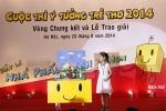 Hơn 1 triệu tác phẩm dự thi 'Ý tưởng trẻ thơ'