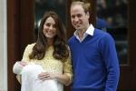 Hình ảnh công chúa nhỏ mới sinh của Hoàng gia Anh