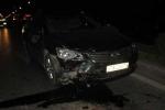 Xe Camry gây tai nạn liên hoàn trong đêm