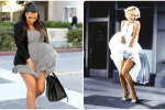 Loạt pha tốc váy gợi nhớ 'bom sex' Marilyn Monroe