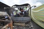 Xe bus phát nổ, 38 người Trung Quốc bỏ mạng