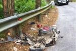 Đôi nam nữ chết thảm khi đổ đèo ở Tam Đảo