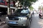 Xe của tỉnh ủy Hải Dương đi vào đường cấm, đâm CSGT rồi bỏ chạy