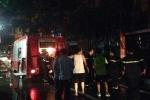 10 học sinh bị mắc kẹt trong vụ cháy nhà hàng ở thủ đô