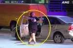 Clip: Nữ tài xế vi phạm phấn khích nhún nhảy sau khi bị cảnh sát rượt đuổi