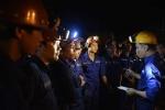 Bục túi nước hầm lò than: Đã tìm thấy nạn nhân mất tích