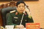 Bộ trưởng Phùng Quang Thanh điện đàm với người đồng cấp Trung Quốc